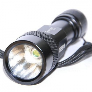 China Romisen RC-G2 P4 230 Lumen Flashlight (Black) on sale
