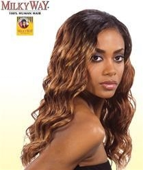 China Milky Way Human Hair Weave - Finger Roll Wave 16 on sale
