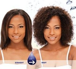 China Milky Way Wet & Wavy Human Hair Weave - Indian Water 8 on sale