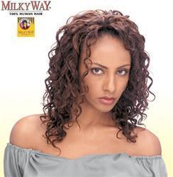 China Milky Way Human Hair Weave - Italian Perm 8 on sale