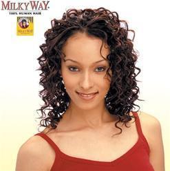 China Milky Way Human Hair Weave - Deep Weave 12 on sale