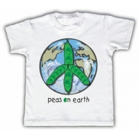 China Peas on earth Funny Toddler T-shirt on sale