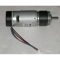 China Geared DC Motor with Encoder | 265 RPM 0.35 N.m on sale