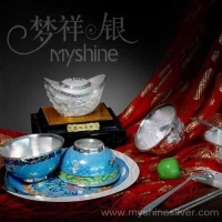 China cloisonneplatedtableware on sale