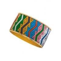 MAYA Aztec Diamond Pattern Bangle Bracelets