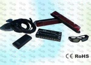 China Encrypted and Unencrypted adjustable 3D Cinema IR Sync kit for professional 3D project on sale