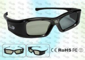 China Rechargeable Theater DLP LINK Active Shutter 3D Glasses on sale