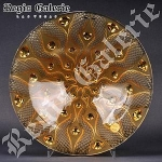 Amber Serpentine Platter