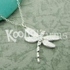 China Dragonfly Pendant Necklace TFN21 on sale