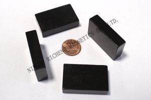 China Epoxy coating magnet block on sale