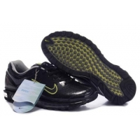 China Nike Air Max 2003 running shoes (black /green) mens shoes on sale