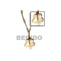China scallop mother of pearl Natural Combination Necklace[BFJ187NK] on sale