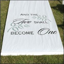 China Aisle Runner - Two Become One on sale