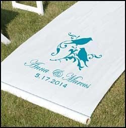 China Aisle Runner - Perched Birds on sale