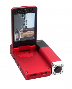 China Dual Channel Car cameras X5000(Red and Black) on sale