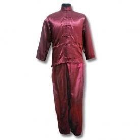 China Formal Satin Kung Fu Suit on sale