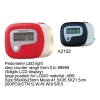 China Pedometer with LED light Item No:A2102 for sale