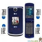 China LG AX8600 ALLTEL AX-8600 MP3 GPS CAMERA CELL PHONE BLUE on sale