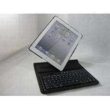 China Black Multi-functional 360 Degrees Rotate Protective iPad 2 Case With Bluetooth Keyboard on sale