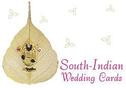 China South Indian Wedding Cards on sale