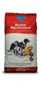 China Alpha - Working Maintainance Dog Food VAT FREE 15kg on sale
