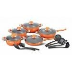 China 16PCS Luxurious Nonstick Cookware Set on sale