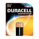 China Duracell MN1604B1 9V Alkaline Battery on sale