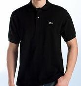 China Men's Short Sleeve LACOSTE POLO Shirt Black Color J on sale