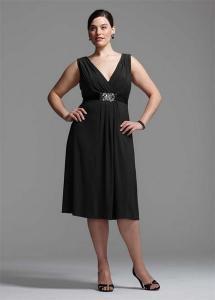 China V Neck Short Jersey Dress on sale