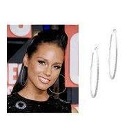 Alicia Keys VMA Hoop Earrings
