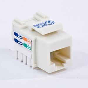 China Cat 5E 350 MHz UTP Eco Jack Light Almond on sale