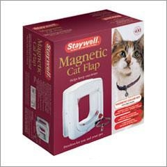 China Magnetic Controlled 4-Way Locking Cat Flap on sale
