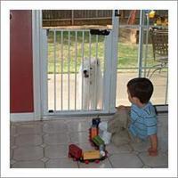 China Cardinal Lock-n-Block Patio Door Dog Gate on sale