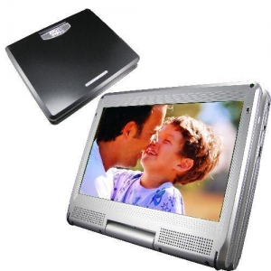 China 11.5 inch Portable DVD Player,Gam+USB+SD+DIVX,Swivel&Flip (1158) on sale