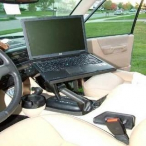 China Economy Adjustable Laptop Computer Vehicle Mount on sale