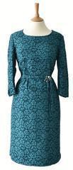 China 1950s Vintage Lace Cocktail Dress 16 on sale
