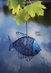 China Fish Hanging Bird Feeder on sale