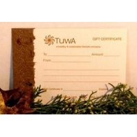 Paper Gift Certificate - $20 (*see special instructions)