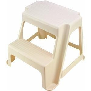 China Rubbermaid 420200BISQU 2-Step Step Stool on sale