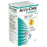 Accu-Chek Compact Test Strips - Box of 51