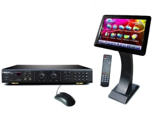 China Touch Screen HDD Karaoke Player KOD-7+SV19 on sale