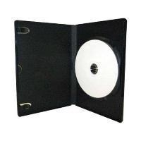 China 14mm Standard 6 Disc Black DVD Cases, 1 to 6 Disc Stackable Hub on sale