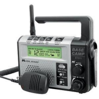 China Midland XT511 Base Camp GMRS Emergency Crank Radio with NOAA on sale
