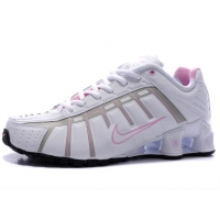 China 2011 Nike shox NZ womens shoes white pink-81 on sale