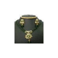 Fancy Indian designer pendant jewelry set