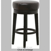 RP-Swivel Backless Leather Bar / Counter Stool