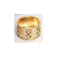 Designer cz diamond fashion antique bangles