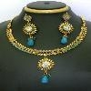 China Indian Wedding Jewelry Necklace on sale