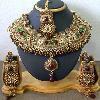 China Indian wedding costume bridal necklace on sale