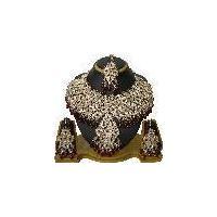 Trendy tribal fashion wedding necklace jewellery